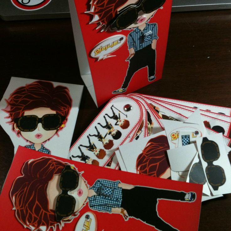 standing CARD | fanART YEol ver. | created by +RATNA HAR (Little Lumut)