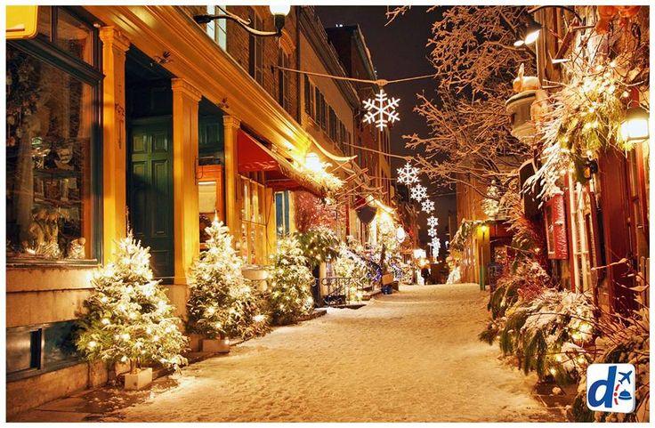 #Navidad en las calles frías. ¡Disfrútala con #Despegar!