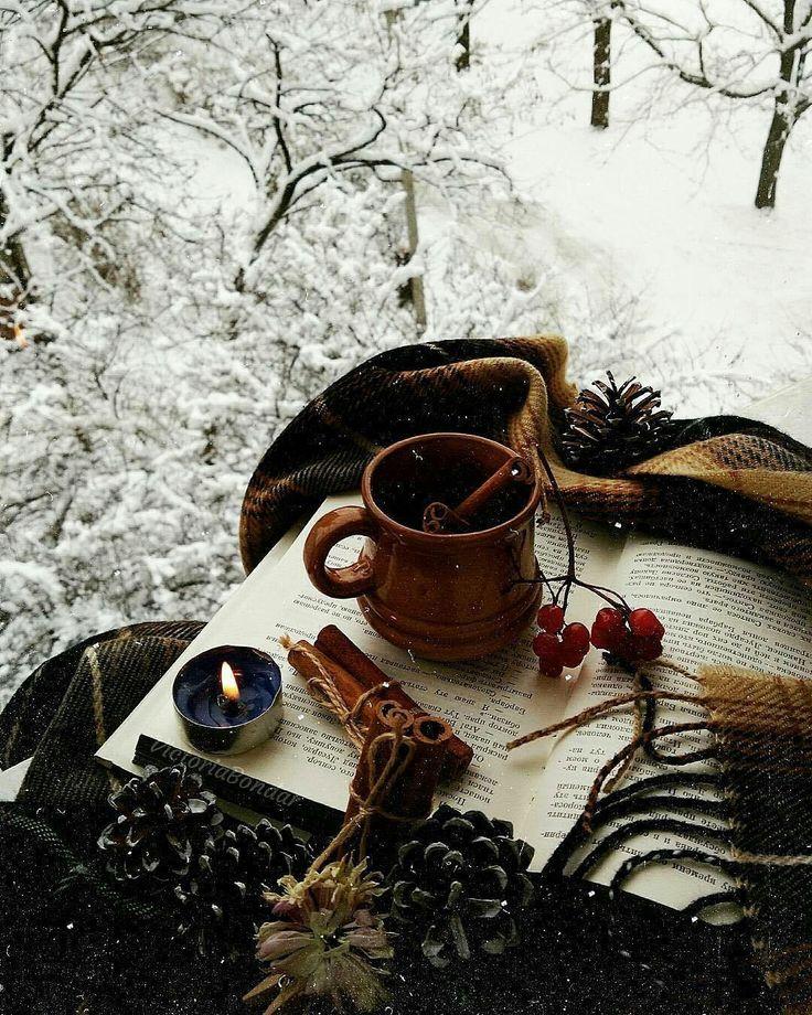 кофе зима картинки красивые природа
