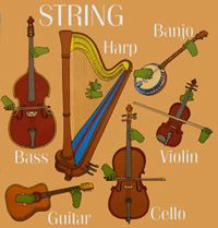 Instrument Review: Instrument Families Review and Games online: Games Online, Instruments Review, Music Instruments, Instruments Families, Families Review, Fantastic Music, Cello, Games Include, Fashion Pin