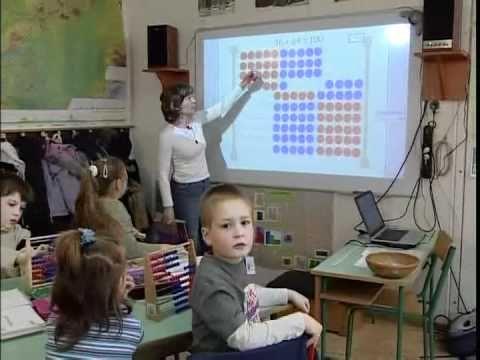 Számolás 100-as számkörben -- 2. osztály  -- 100 bontása abakusszal