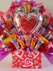 Will be doing this Valentine's day candy bouquet for teachers, friends, and loved ones..