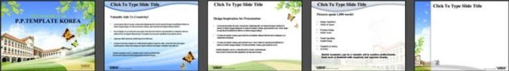 [파워포인트PPT배경] 동산위 학교 파워포인트PPT배경2 powerpoint template, presentation template, template, PPT, PT, free powerpoint presentation, background, get it more and free, at www.pptkorea.com