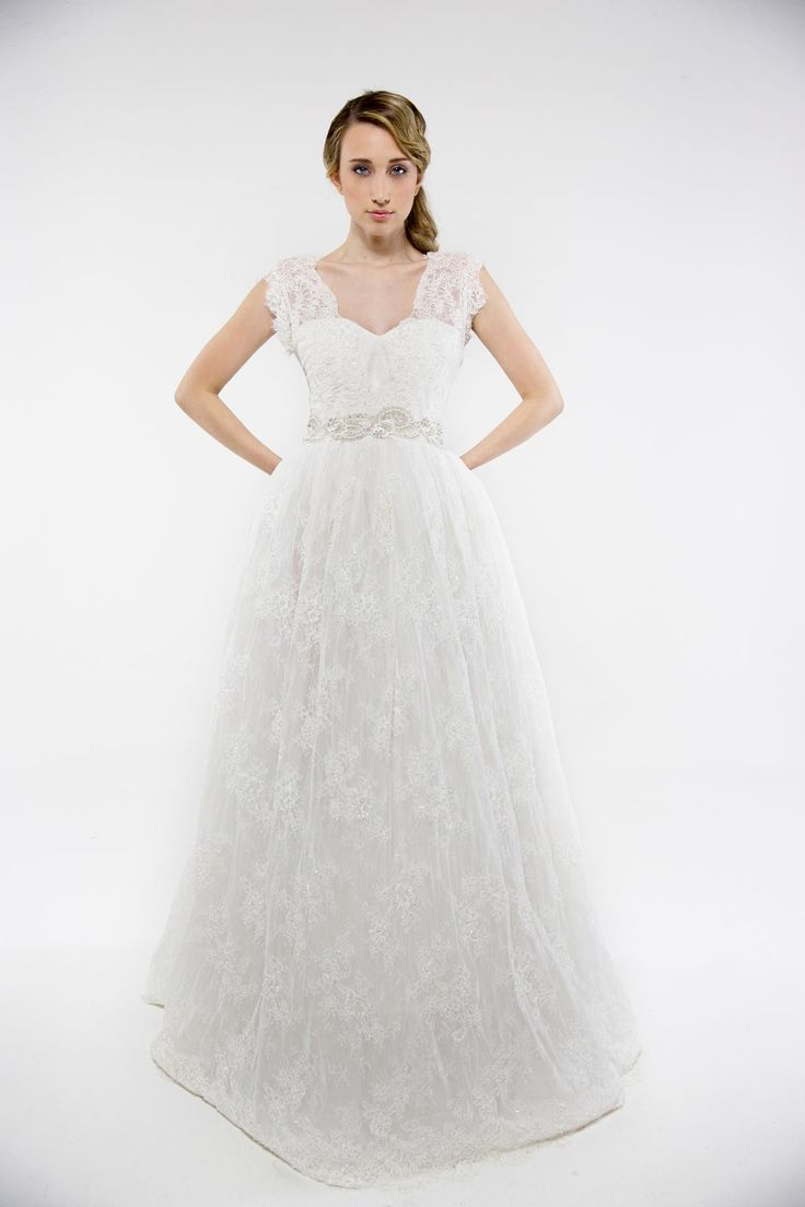 Francesca Miranda Wedding Dresses Spring 2014. To see more: http://www.modwedding.com/2013/12/24/francesca-miranda-wedding-dresses-spring-2014/