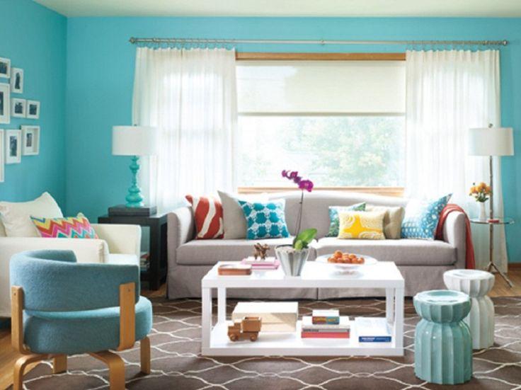 75 best Living Room Color Schemes images on Pinterest | Living room ...
