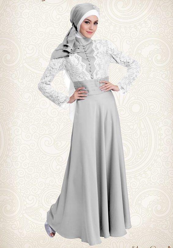 1000 Images About Kebaya Muslim On Pinterest