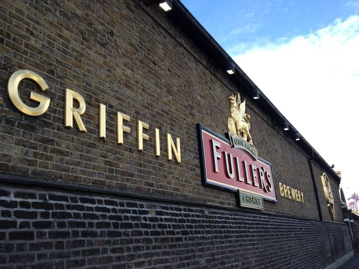 The Fullers Brewery in Chiswick.