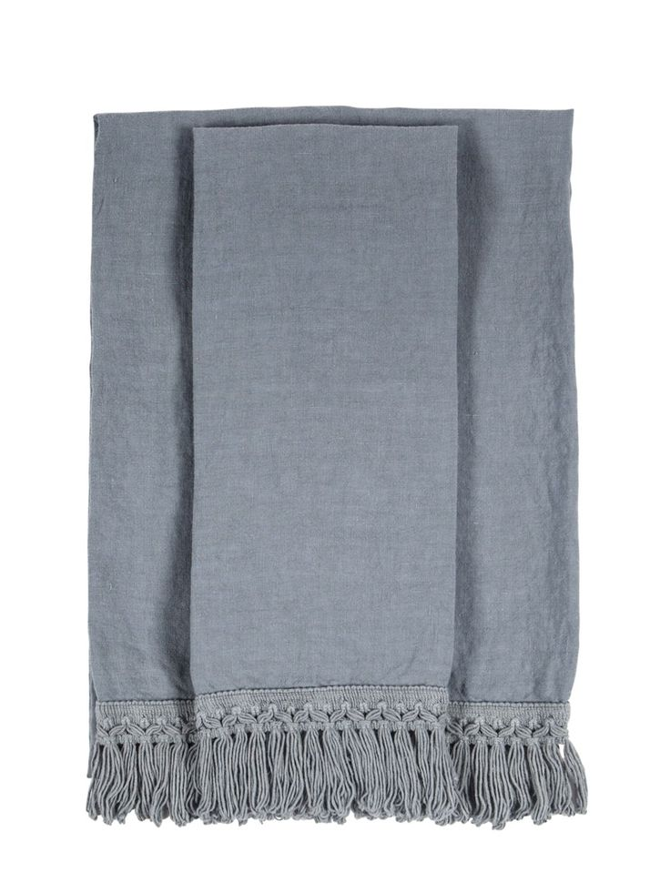 ONCE MILANO - HANDMADE SET OF 2 LINEN TOWELS - LUISAVIAROMA - LUXURY SHOPPING WORLDWIDE SHIPPING - FLORENCE