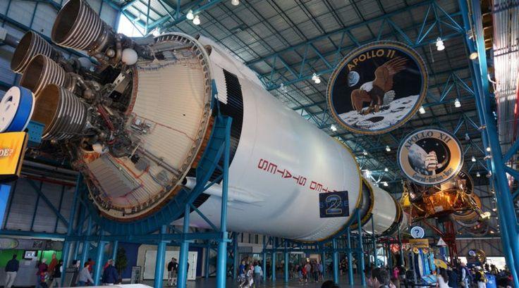 Hangar at Kennedy Space Center Florida.