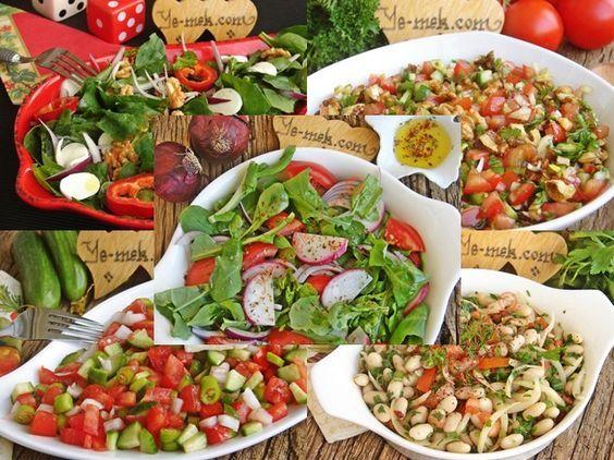 Balık Yanına En İyi Giden Salatalar Resimli Tarifi - Yemek Tarifleri
