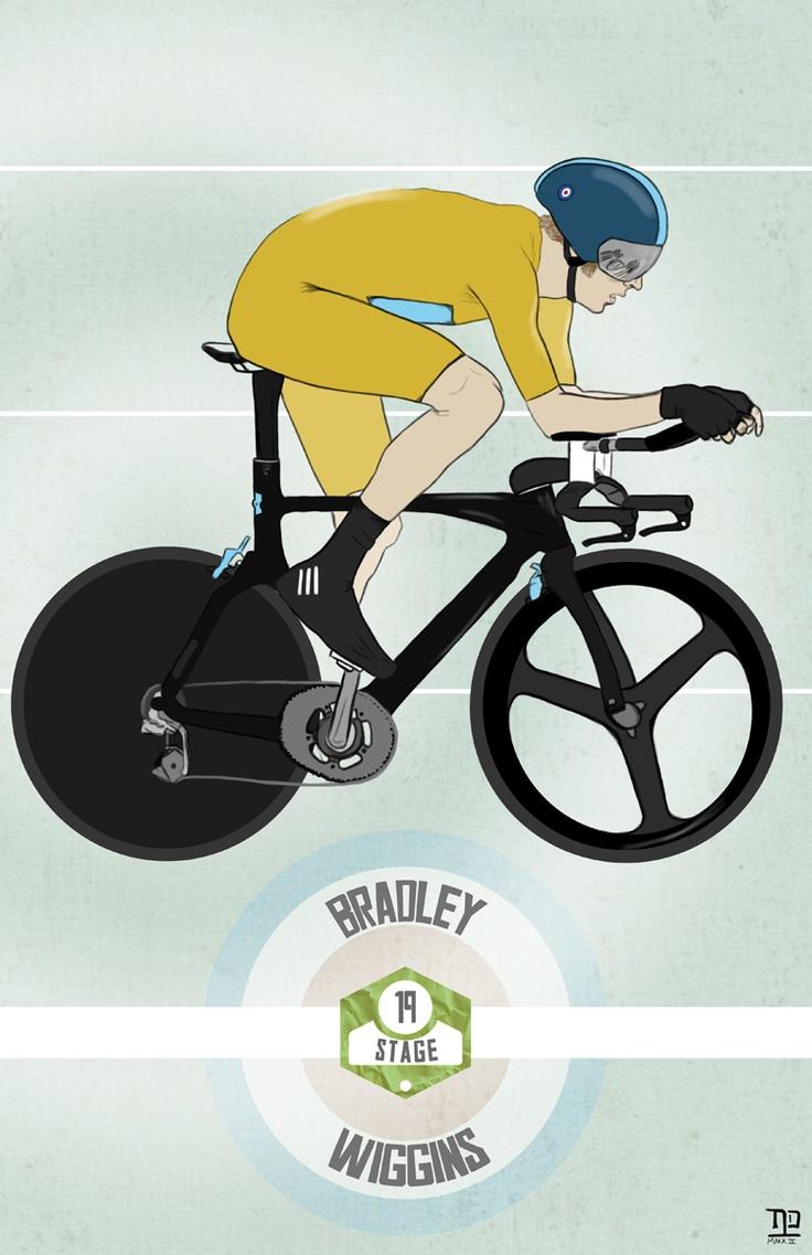 Tour de France: Stage 19 winner, Bradley Wiggins  Great ride from Wiggo  ©nathan dallesasse