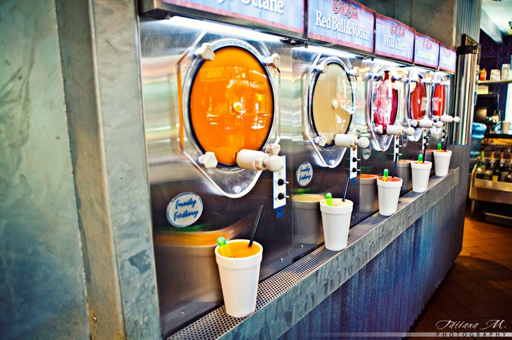 Our Daiquiri machines! Alcoholic slushies as some would call them ;)  #Nola #Five0Four
