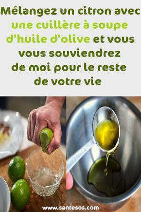 Melangez Un Citron Avec Une Cuillere A Soupe D Huile D Olive Et Vous