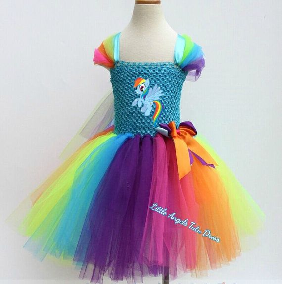 NEUE Rainbow Dash mein kleines Pony Tutu von LittleAngelTutuDress
