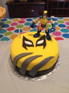 Michigan Wolverine Birthday Cake