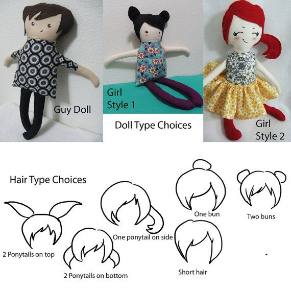A homemade doll for A, designing it now :)