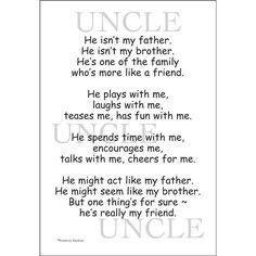 uncle quotes from nephew - Google zoeken