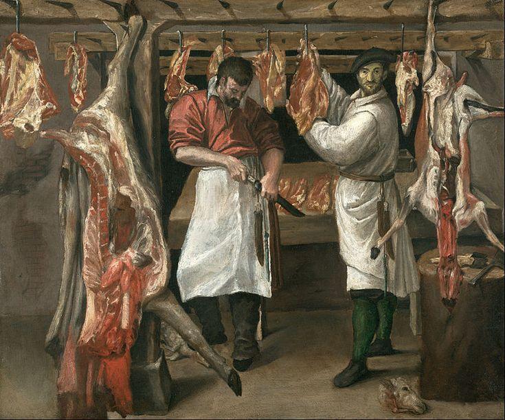 Annibale Carracci - The Butcher's Shop - Google Art Project - Annibale Carracci - Wikipedia, the free encyclopedia