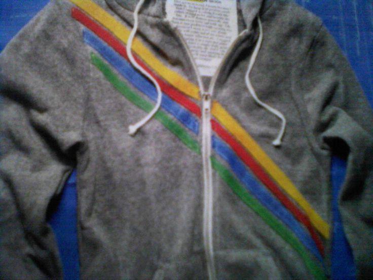 The Frugal Fashionista's Thrifty Blog: Reinvent Your Boring Sweatshirt