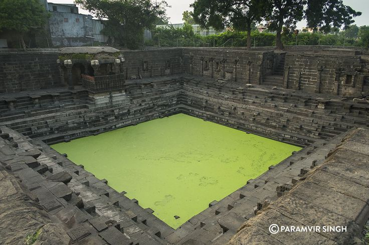 Limbi Barav or Step Well at Lonar, built during the reign of the Chalukya dynasty.