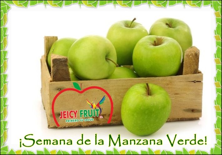 Nuestra fruta de esta semana es la manzana verde