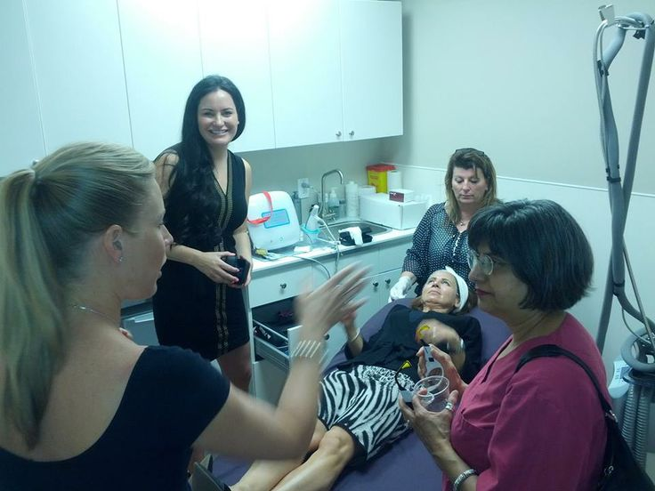 Live demonstration of #Thermage skin tightening at our open house event at #DermatologyonBloor.
