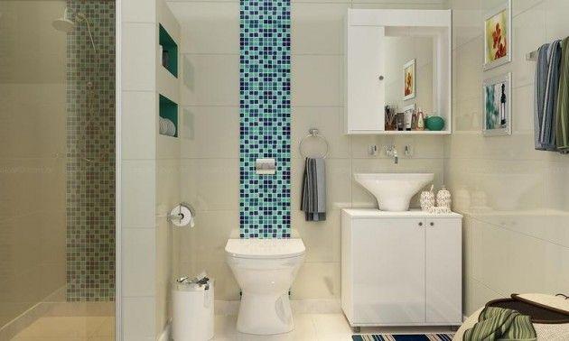 25+ melhores ideias sobre Armario Aereo Para Quarto no Pinterest  Armario ae -> Banheiro Com Faixa De Pastilha Atras Do Vaso