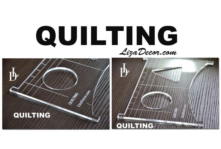 #quilting #quiltovací #pravítka #šablony #rám #frame