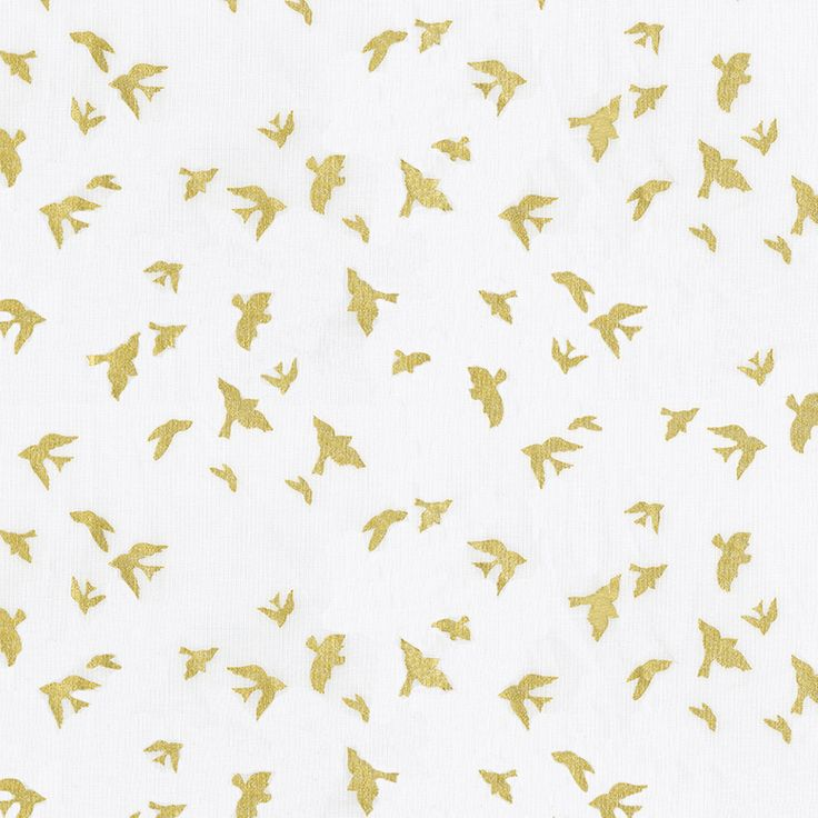 Gold and white background design gold triangles fabric by the yard