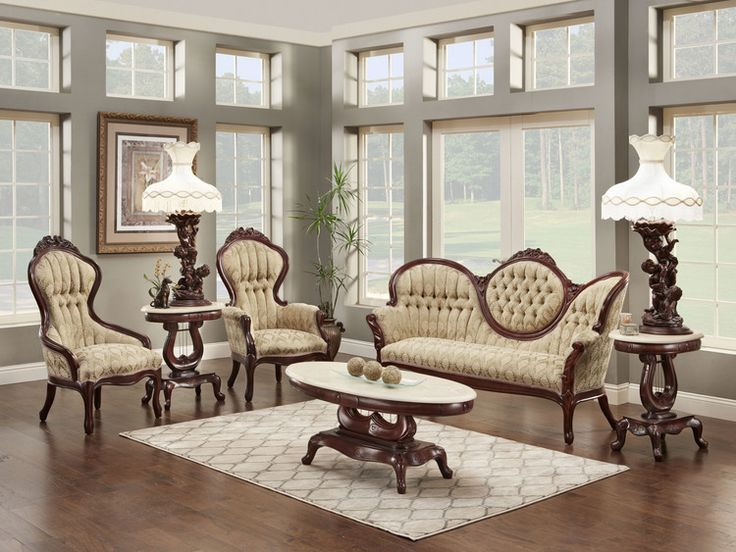 12 Best Victorian And French Provincial Living Room Sets Images On Pinterest Living Room Set