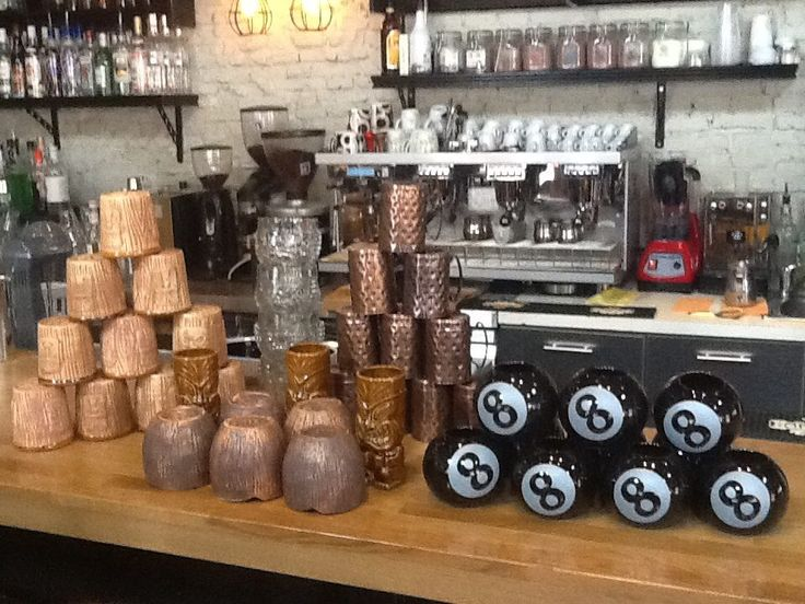 tiki passion Cadillac records Bar #tiki #bar #glasses #cocktail #karditsa