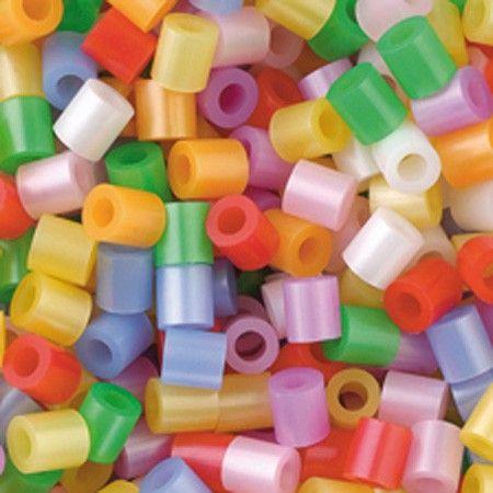 Perline da stirare con effetto perlato 1100 pezzi, perline a fusione Nabbi beads, pyssla