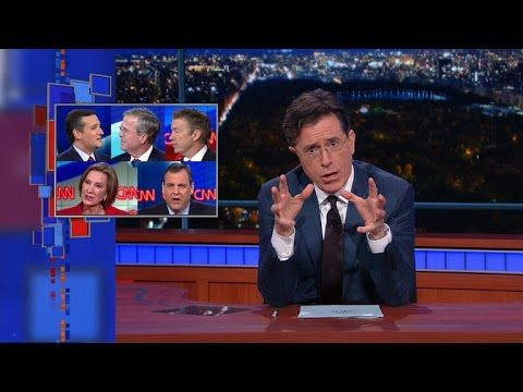 "Stephen Totally Watched CNN's GOP Debate | Trump took some heavy hits during Tuesday night's GOP debate, but luckily, he's in ""astonishingly excellent"" health, so he can take it."