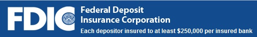 The Federal Deposit Insurance Corporation maintains the stability of the nation's banking system. Consumer resources and a list of banks that have failed are useful.
