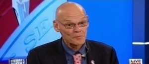 Carville: 'Mitt Romney came with a chainsaw' BUZZ BUZZ BARRY IS GONE JAN 2o13