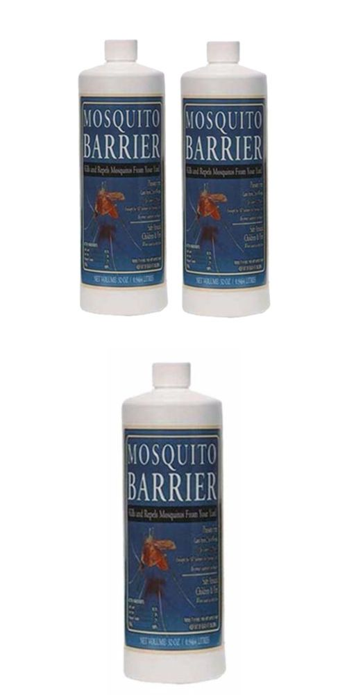 Insect Repellent Sprays 181038: Mosquito Barrier 2001 Liquid Spray Repellent (1-Quart) - 2 Pack -> BUY IT NOW ONLY: $43.98 on eBay!
