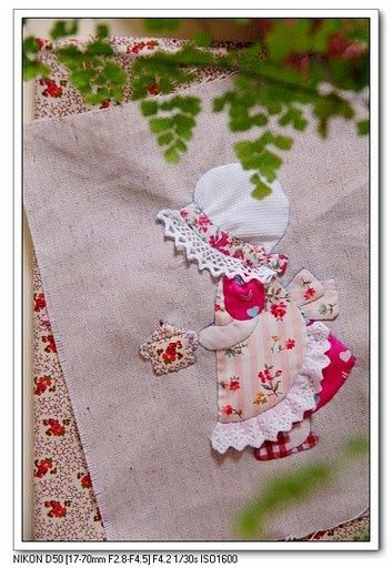 applique. This is gorgeous!