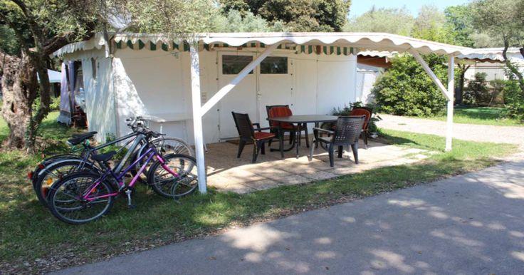 Dauercamper Wohnwagen auf Valalta von privat mieten. Parzelle 1455 als Dauercamper auf Valalta in Rovinj Kroatien. Fkk Valalta Mietwohnwagen von privat,