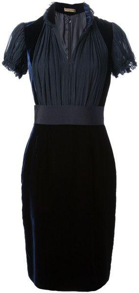 Gorgeous Black Velvet Dress - Alexander McQueen #Style #black #fashion