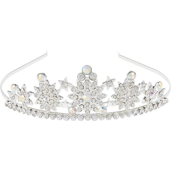 Monsoon Ice Princess Star Tiara ($25) ❤ liked on Polyvore featuring accessories, hair accessories, star hair accessories, headband tiara, head wrap headbands, clear headband and star headband