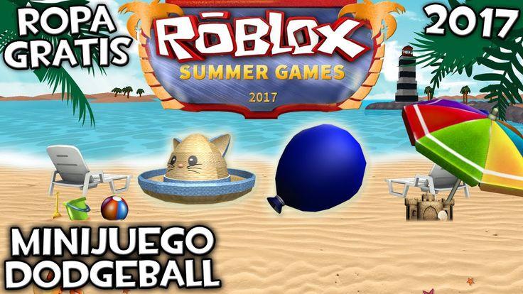 COMO CONSEGUIR ROPA GRATIS EN ROBLOX SUMMER GAMES 2017 …