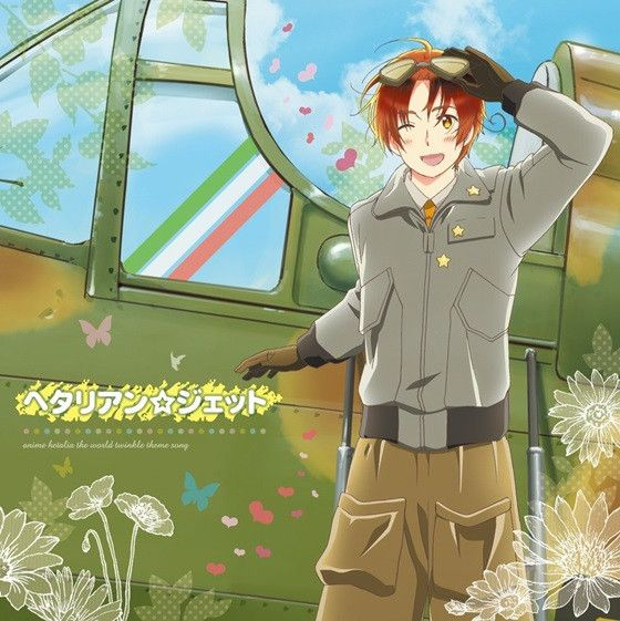 """Hetalia The World Twinkle"" Featuring Theme Song by Daisuke Namikawa, Hetalian☆Jet"" CD single jacket"