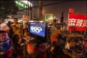 2008 Watching the Beijing Olympics on TV