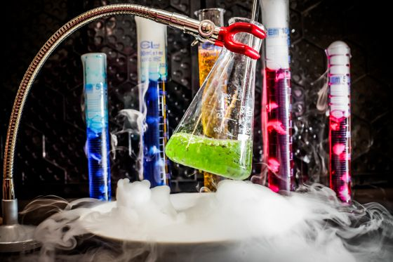 Laboratorium chemiczne / Chemistry lab