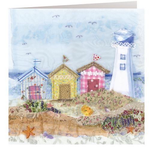 HD08 Lighthouse - Handmade Cards from Abigail Mill Embroidery