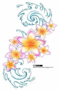 frangipani tattoo - Google zoeken