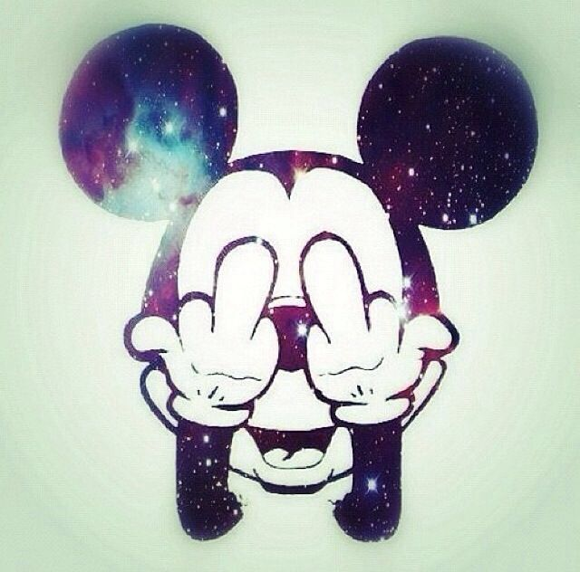 #wallpapers #mickeymouse #mickey #mouse #my #middle #finger #salutes #you