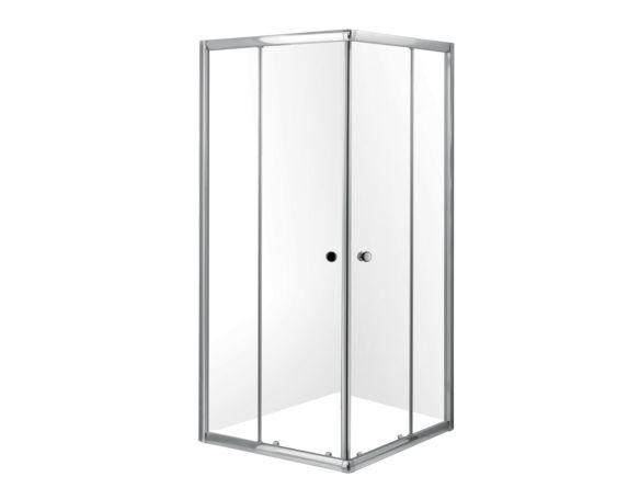 Porte de douche 36 pouces avec ouverture en coin - Portes de douche - Douches - Salles de bain - Produits - Bain Dépôt