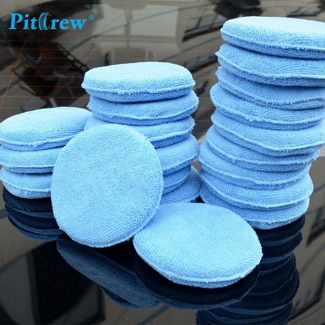 """(10pieces/lot) Car washer Blue Microfiber Wax Applicator Polishing Sponges pads 5"""" Diameter Sponges Car &Motorcycles Accessories     Buy at -> https://salecurrents.com/10pieceslot-car-washer-blue-microfiber-wax-applicator-polishing-sponges-pads-5-diameter-sponges-car-motorcycles-accessories/ For 16.36 USD    For More Items Visit www.salecurrents.com    FREE Shipping Worldwide!!!"""
