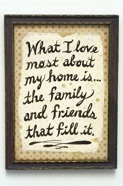 From the Sneak Peek of Gina Triplett and Matt Curtius' home   WHAT I LOVE MOST ABOUT MY HOME IS . . . THE FAMILY AND FRIENDS THAT FILL IT.